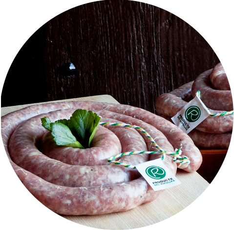 Cold Meat and sausages made with pigs from Ripollès